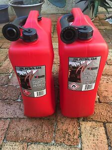 2 x jerry cans 20L Scarborough Stirling Area Preview