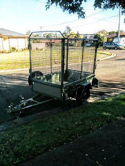 Trailer with cage $30 per day hire Toongabbie Parramatta Area Preview