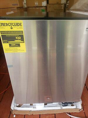 Summit Al54 Ada Height 24 Built-in Undercounter Refrigerator Stainless Steelbl