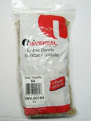 1 Lb Universal Rubber Bands Size 64 Unv-00164