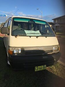BACK FOR SALE - HIACE VAN Redhead Lake Macquarie Area Preview