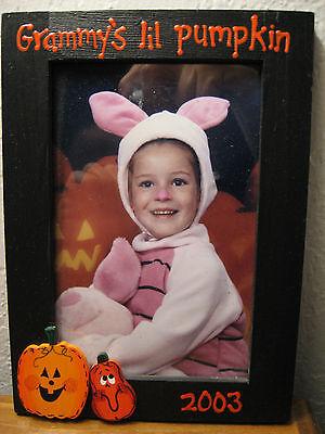 GRAMMYS LITTLE PUMPKIN - Happy Halloween grandmas pumpkin photo picture - Happy Halloween Photos Pumpkins