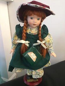 Anne of Green Gables - porcelain doll