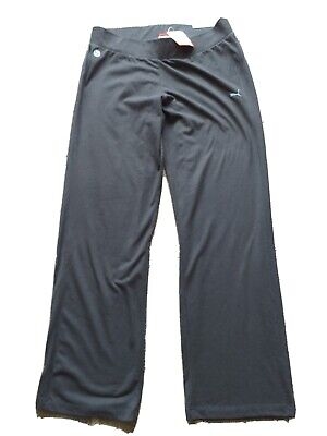 Bnwt Ladies Puma Black Jersey Pants. 16 (XL)