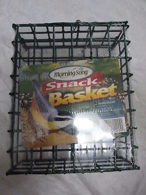 New Larger Size Snack Basket Scott Morning Song Suet Packs & Others, Bird Feeder