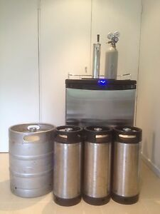 Complete kegerator setup keg fridge  $850  ONLY 12 MONTHS OLD Gosford Gosford Area Preview