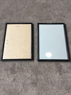 Black photo frame size A4