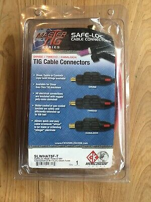 Ck Worldwide Safe-loc Slwhat5f-t Tig Cable Connectors