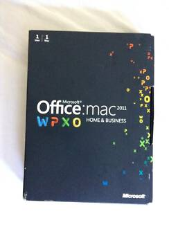Microsoft Office: Mac 2011 Home and Business