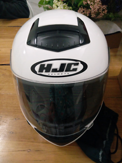 HJC Motorbike Motorcycle Scooter Helmet And Icon Gloves