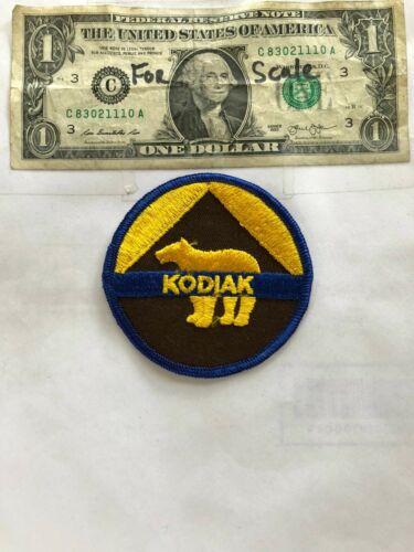 Very Rare Kodiak Alaska Police Patch Un-Sewn in great shape