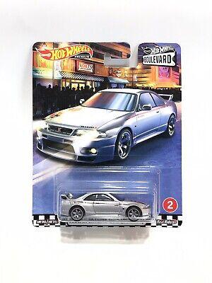 2020 Hot Wheels Premium Boulevard Nissan Skyline GT-R (BNR33) Silver