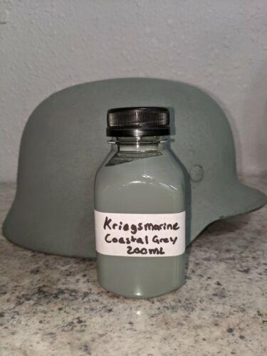WW2 German Kriegsmarine Coastal Grey helmet paint 200ml