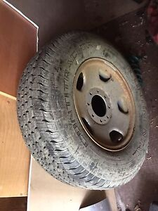 Ford F-250 spare tire/tailgate