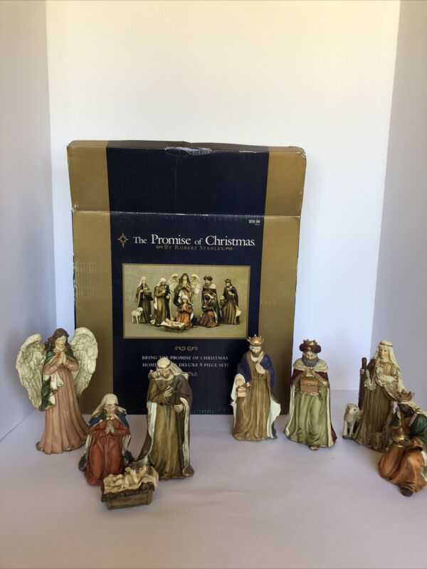 The Promise of Christmas Robert Stanley 6 Pc Nativity Set 2015