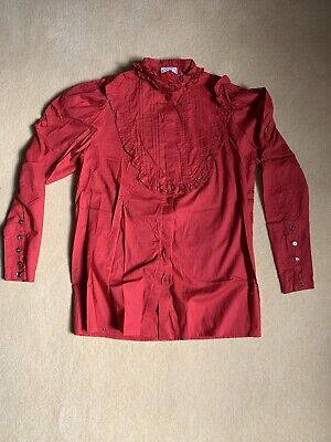 Laura Ashley Vintage Shirt Uk 12