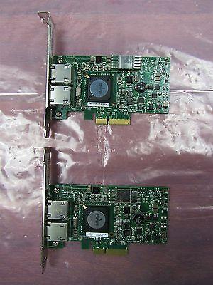 Lot Of 2 Dell Broadcom Netxtreme Ii 5709 Dual Port Gbe Network Card G218c F169g