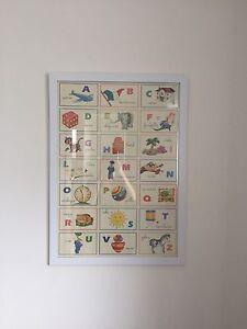 Childrens Italian Alphabet Poster Bexley Rockdale Area Preview