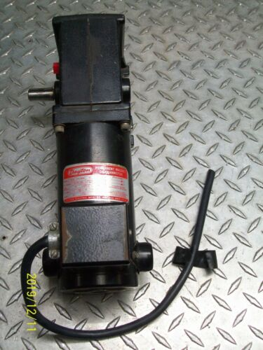 DAYTON 4Z136 DC GEARMOTOR 1/8 HP 20:1 RATIO