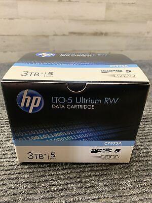 BRAND NEW HP C7975A BACKUP TAPE CARTRIDGES LTO-5 ULTRIUM ORIGINAL SEAL 5-Pack