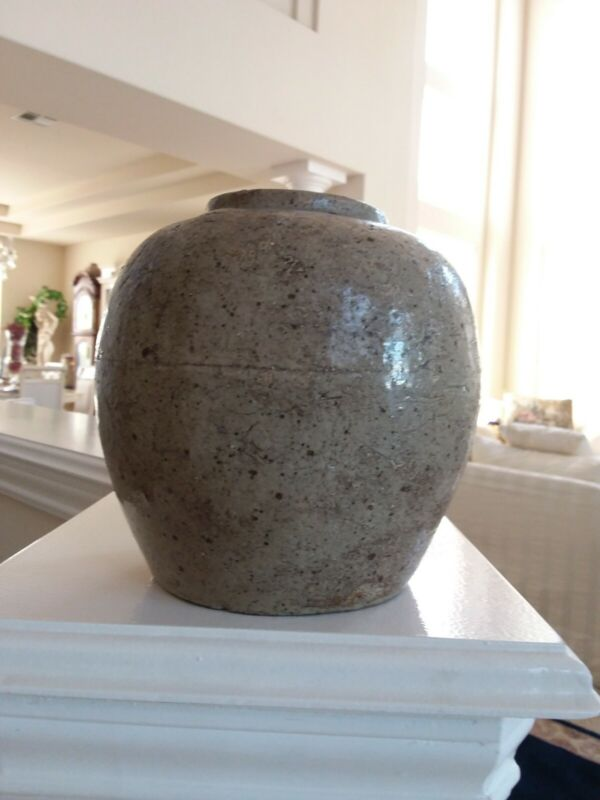 Korean /chinese Antique Vase Signed