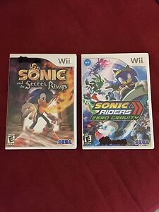 Sonic Wii Games