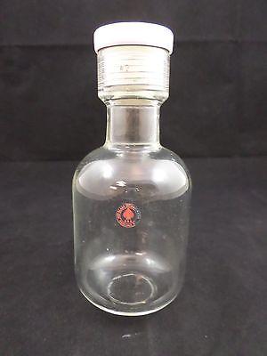 Ace Glass 325ml Heavy Wall Flat Bottom Pressure Vessel Bottle Complete 25 8648
