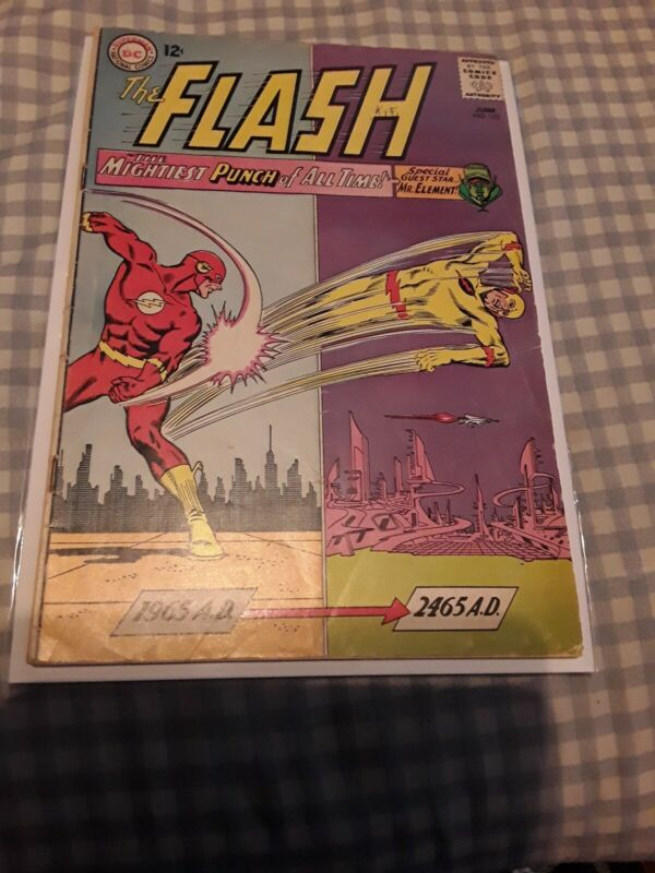 The Flash #153 VG/FN 5.0 Professor Zoom Appearance