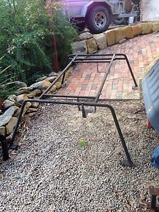 Hilux single cab canopy ladder rack basket Winmalee Blue Mountains Preview