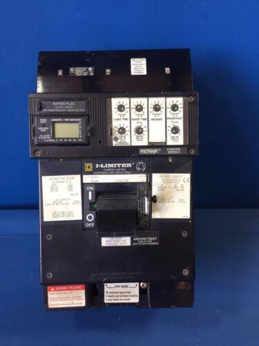 SQUARE D LXI36175G 250A SENSOR 600V 3PH ARP075 PLUG ELECTRONIC TRIP I-LINE BREAK