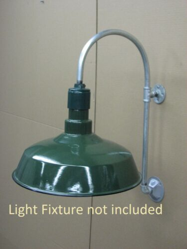 Gas Station Light, Barn Light, Gooseneck, Wall Mount, Industrial quality
