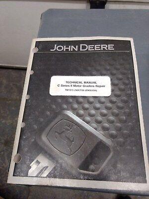 John Deere Technical Manual C Series Ii Motor Graders Tm1915