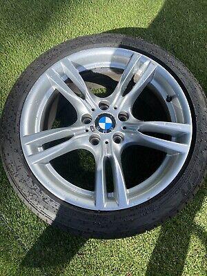"Genuine BMW 18"" Style 400M Front Alloy Wheel 3 4 Series F30 F31 F32 F33 7845880"