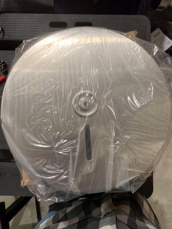 Bobrick Jumbo Toilet Tissue Dispenser Stainless Steel B-2890 NEW