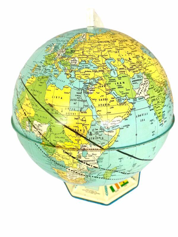 1960's Mercury-Atlas (friendship7) John Glen Commerative GLOBE