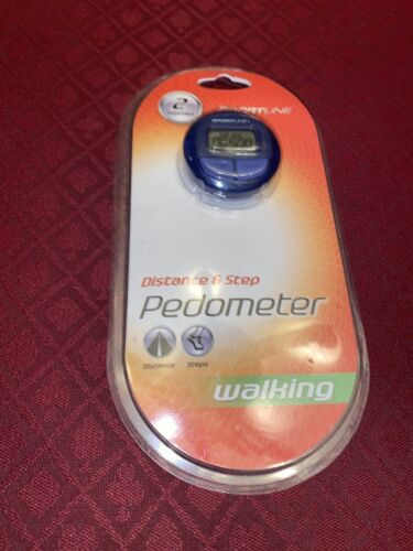 Sportline 2 Function Pedometer: Step and Distance