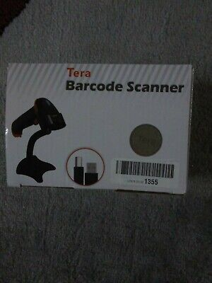 Tera Barcode Scanner Wireless Wired 1d 2d Qr Digital Barcode Reader