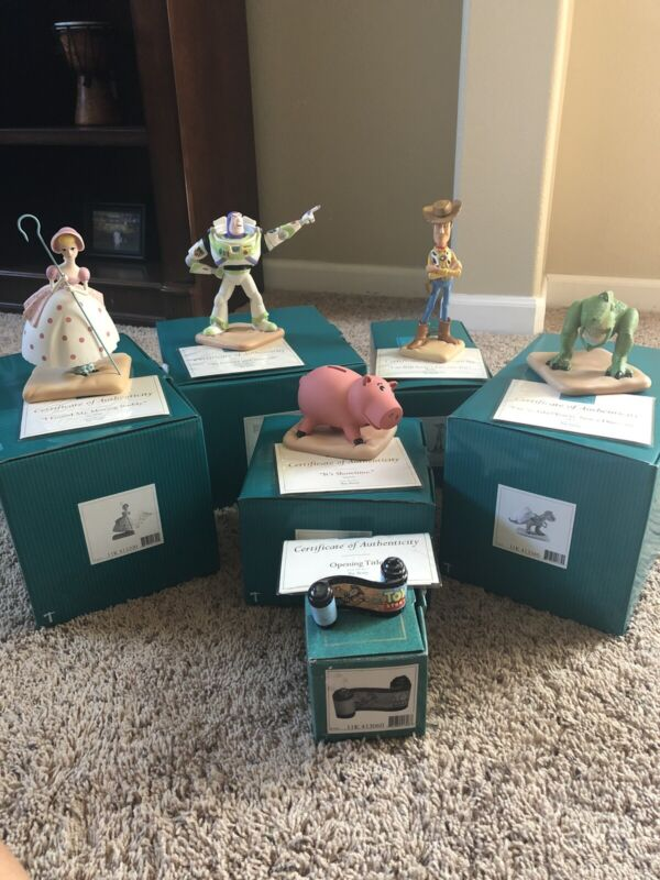 Disney WDCC Set of 6 Toy Story Figurines