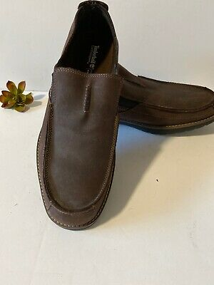 TIMBERLAND Earthkeepers  Slip On Loafers Brown Sz 12 Anti-Fatigue  casual