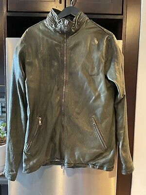Giorgio Brato Brushed Leather Jacket - MADE IN ITALY