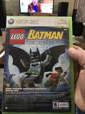 LEGO Batman 2: DC Super Heroes (Microsoft Xbox 360, 2012) Brand New Sealed