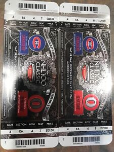 NHL Classic outdoor game 2 tickets