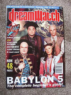 Dreamwatch Magazine #13 - September 1995 - Doctor Who, Babylon 5, Star Trek