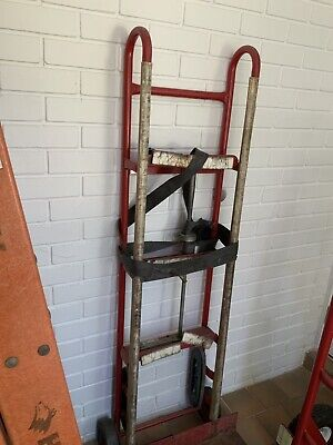 Heavy Duty Ratcheting Strap Appliance Refrigerator Moving Hand Truck Dolly Cart