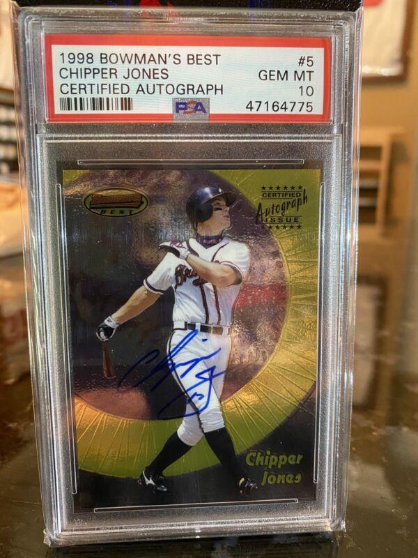1996 Topps #177 Chipper Jones Atlanta Braves Baseball NM-MT