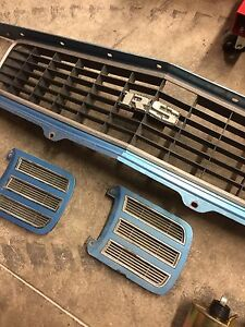 Original 1969 Camaro RS grill and window grill