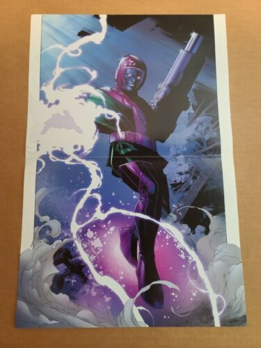 Young Avengers 3 Kang the Conqueror Marvel Comics Poster by Jim Cheung