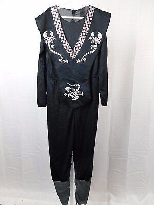 Boy's Halloween Costume Jumpsuit Child Size 4-6 Small #R38 (Black Scorpion Kostüm)