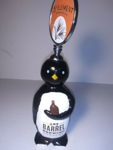 "One Barrel Brewing Co Tap Handle 10"" - 5th Element IPA - RARE"