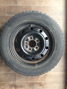 "4 x 15"" Winter tires WITH rims (price reduction)"